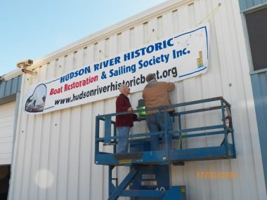 Raising our banner
