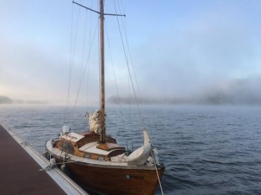 Poughkeepsie Morning Mooring 10/8/2015